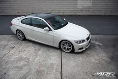 BMW_328i_MRR_GT8_WHEELS_HS_07 (MRR WHEELS) Tags: white silver wheels tires bmw rims e90 328i