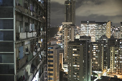 Construction work on the tower was aborted in 1994, but scaffolding and construction debris are still present. (Americas Quarterly) Tags: venezuela caracas torrededavid