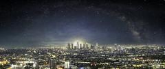 LA Milky Way (ALoRAWr) Tags: skyline way la losangeles los angeles milky milkyway laskyline