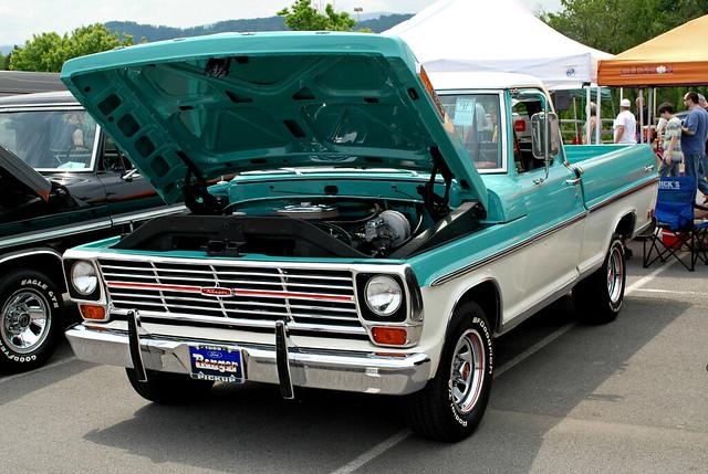 ford 1969 truck ranger pickup f100 carshow fordsupernationals