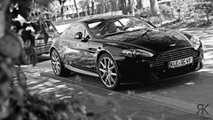 V8. (Raoul Automotive Photography) Tags: bw white black slr logo photography kroes martin sony automotive filter sp f di 28 mm af alpha dslr tamron coupe f28 v8 xr aston astonmartin slt vantage rk raoul a58 polarisation 2875 v8vantage dslt