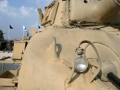 "M-51 Sherman (6) • <a style=""font-size:0.8em;"" href=""http://www.flickr.com/photos/81723459@N04/9358100068/"" target=""_blank"">View on Flickr</a>"
