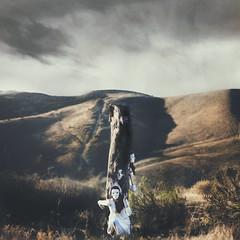 Untitled (joshuamalik) Tags: mountains girl clouds photography 50mm nikon dress 14 josh conceptual malik d800 joshuamalik