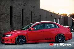 """WORK Emotion XD9 - 18x10 +38 Blue on WRX • <a style=""""font-size:0.8em;"""" href=""""http://www.flickr.com/photos/64399356@N08/9573583630/"""" target=""""_blank"""">View on Flickr</a>"""