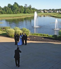They're working  We're drinking (SteveMather) Tags: wedding ohio sun eye photo jessica signature cleveland flash jeremy squint pro dxo oh setup 83 4s solon optics iphone 2013 stephenrmather