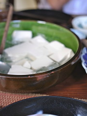 Chilled summer tofu (kattebelletje) Tags: tofu japanesecooking doufu chilledtofu
