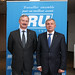 Siim Kallas, EC Vice-President and European Commissioner for Transport and Rimantas Sinkevičius, EU Transport Council President and Minister for Transport, Republic of Lithuania