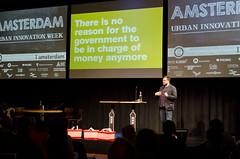 Paul Kemp-Robertsen - Redefining growth (Waag Society) Tags: netherlands amsterdam nederland event waag speakers sprekers waagsoc