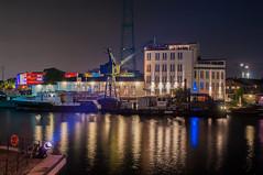 FOTO0989 (enno.korn) Tags: longexposure harbor nacht hamburg hafen elbe lichter nachtaufnahme harburg nightoflights langzeitbelichtung nachtderlichter