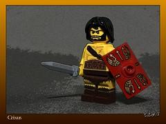 130930 Crixus (Lost Trooper) Tags: lego roman sword shield gladiator 2013 crixus