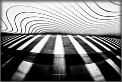 Calatrava day 6 (flaviogallinaro) Tags: blackandwhite calatrava architettura velocit reggio ribbet creattivit mediopadana