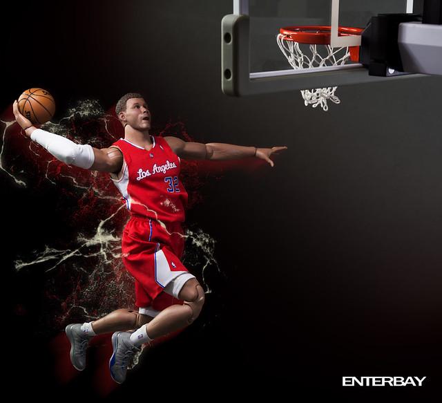 ENTERBAY – 1/6 REAL MASTERPIECE NBA:布雷克‧葛里芬