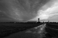 Propagation turbulente (Igor HOLLMAN) Tags: sky clouds canon landscape champs ciel fields thunderstorm normandie nuages paysage normandy 1022mm calvados orage meteorology mto arcus bassenormandie 550d shelfcloud ctedenacre instabilit igorhollman 3octobre2013 ligneorageuse sillageturbulent