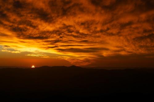 Sunset in La Silla Observatory
