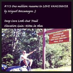 | no.113 | | Deep Cove Look-Out Trail entrance from Mt. Seymour | (onemillionreasonstolovevancouver) Tags: world city people tourism home promotion vancouver 22 1 cool realestate profile trail deepcove mtseymour today l4l vancity downtownvancouver metrovancouver onemillion cityofvancouver vancouverite vancouvercity vancouvertourism vancouverrealestate vanone awesomevancouver instaphoto instagood instafollow uploaded:by=flickrmobile flickriosapp:filter=nofilter miguelboccanegra thegreatervancouverarea