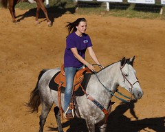 Kellyville Barrel Race Oct 27th (Garagewerks) Tags: boy horse woman man male oklahoma ex girl sport female america cowboy ride sony country sigma os apo american cowgirl f28 equine dg a77 70200mm barrelracing barrelrace hsm roundupclub kellyvilleroundupclub