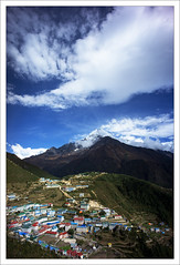 DSC04952 (zzzoz) Tags: nepal landscape hiking bazaar ebc namche
