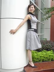 one leg-veivei-04 (ampugirl) Tags: girl friend es amputee my