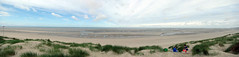 Le Touquet Paris Plage, Panorama, Low tide