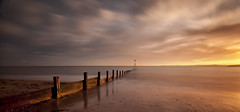 Just a Perfect Day (yadrad) Tags: longexposure sunset southwest devon southcoast groyne exmouth exmouthbeach