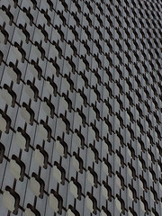 Tour Ariane, La Defense, Paris (davidwoolf) Tags: paris tower glass facade skyscraper tour ladefense ariane