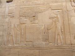 Egypt 2011 Kom Ombo - Sobek and Horus 5354 (barnett_nigel) Tags: egypt horus kom ombo sobek 2011