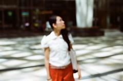 (yhkuo) Tags: tokyo nikon midtown roppongi  13 fm2 50mmf14  kodakcolorplus200