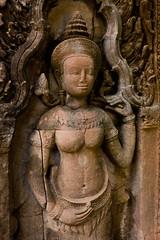 Apsara - Preah_Khan - Angkor - Cambodia (Justinsoul) Tags: cambodia angkor apsara preahkhan justinsoul