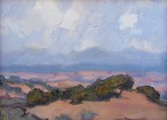 Weather over the Jemez     6 x 8