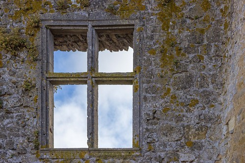window of a castle / Burgfenster