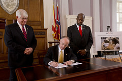 12-10-13 Governor Bentley Creates Commission to Address Delivery of Services for Veterans