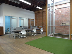 Light Shaft, Dedicated Workstations, & Small Private Offices