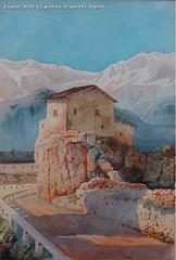Eugenio Prati La predara acquerello depilati