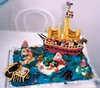 Pirates et Sirènes (1) (revesacroquer) Tags: ocean birthday sea food mer cake boat fort pirates chest pirate bateau enfant siren anniversaire piratesofthecaribbean gâteau sirene jacksparrow bâteau sirènes coffre sirenes coffrefort piratesdescaraibes piratesdescarraibes