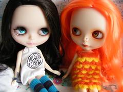 Aishe and Ileana...