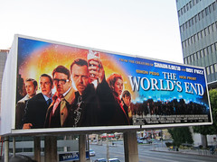 Entertainment, The Worlds End at Cinerama Dome Hollywood, Marquee