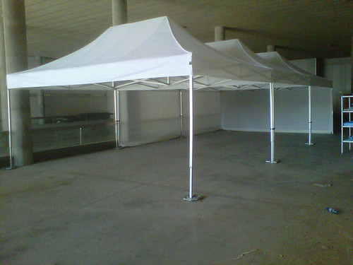 White folding tents Qualytent 6x4 tents modular tents quick up tents for events & White folding tents Qualytent 6x4 tents modular tents quick up ...