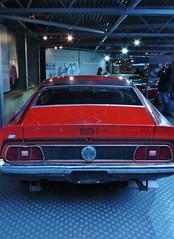 Bond - Diamonds Are Forever - Ford Mustang Mach 1 (sueeverettuk) Tags: uk red england black ford car canon 1971 bond mustang seanconnery beaulieu 007 jamesbond diamondsareforever fordmustangmach1 newforestnationalpark sueeverett severett bondinmotion canonpowershotsx50 beauleiunatcarmuseum