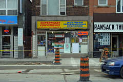 DSC_0228 v2 (collations) Tags: toronto ontario architecture documentary vernacular streetscapes builtenvironment cornerstores conveniencestores urbanfabric varietystores