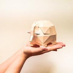 วิธีการทำโมเดลกระดาษช้างอ้วน