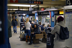 New York City   Subterranea 06 (Christopher James Botham) Tags: park street new york city nyc columbus red people urban newyork west public station architecture train circle square cityscape manhattan sony south central broadway platform line midtown transportation transit mta times mass avenue streetscape 8th 8thavenue 59th 59thstreet a65 sal35f18