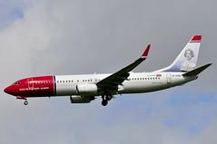LN-DYG (LIAM J McMANUS - Manchester Airport Photostream) Tags: man manchester norwegian boeing dy b737 nax boeing737800 boeing737 egcc jennylind 738 b738 norwegianairshuttle 73h norshuttle norwegiancom lndyg