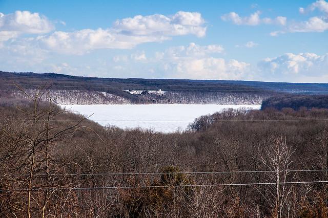 Lake Monroe - Scenic View Restaurant - January 25, 2014