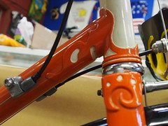 Name that lug (MannyAcosta) Tags: mountain mike bike bicycle cycling ride williams marin bee ridge cycle biking headlands shel rivendell bikig bikings