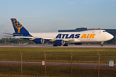 N854GT Atlas Air 747-8F (Centreline Photography) Tags: plane canon airplane airport florida miami aircraft aviation airplanes flight aeroplane mia planes chrishall flughafen runway spotting airliner airliners planespotting flug spotters miamiairport kmia eos400d centrelinephotography