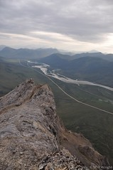 View from Sukakpak Mountain along the Dalton Highway
