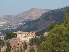 El Valle (ExeDave) Tags: urban españa mountain holiday mountains pine forest landscape spain fringe espana murcia april viewpoint iberia laluz visitorcentre 2014 regionalpark elvalle betic centrodevisitantes parqueregional elvalleycarrascoy p4150182