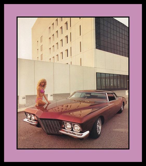 buick riviera babe 1989 1972 customcar showcar