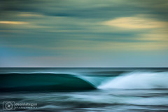 more blue train (laatideon) Tags: sea blur surf wave slowshutter icm panned etcetc intentionalcameramovement laatideon deonlategan