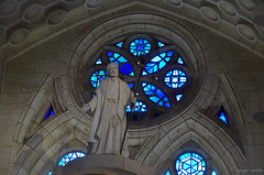 Roseton Sagrada Familia (serarca) Tags: barcelona familia sagrada vidrieras roseton